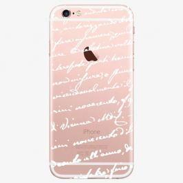 Plastový kryt iSaprio - Handwiting 01 - white - iPhone 7 Plus