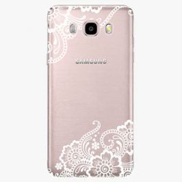 Plastový kryt iSaprio - White Lace 02 - Samsung Galaxy J5 2016