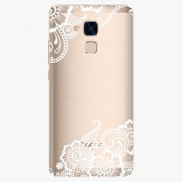 Plastový kryt iSaprio - White Lace 02 - Huawei Honor 7 Lite
