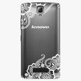 Plastový kryt iSaprio - White Lace 02 - Lenovo A2010