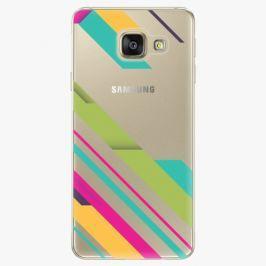 Plastový kryt iSaprio - Color Stripes 03 - Samsung Galaxy A3 2016