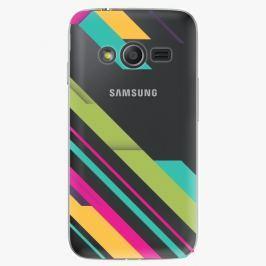 Plastový kryt iSaprio - Color Stripes 03 - Samsung Galaxy Trend 2 Lite