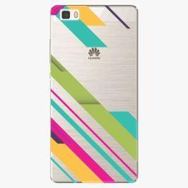 Plastový kryt iSaprio - Color Stripes 03 - Huawei Ascend P8 Lite