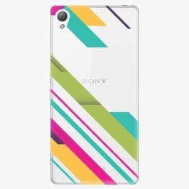 Plastový kryt iSaprio - Color Stripes 03 - Sony Xperia Z3
