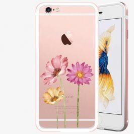 Plastový kryt iSaprio - Three Flowers - iPhone 6 Plus/6S Plus - Rose Gold