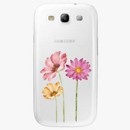 Plastový kryt iSaprio - Three Flowers - Samsung Galaxy S3