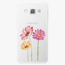 Plastový kryt iSaprio - Three Flowers - Samsung Galaxy A7