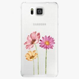 Plastový kryt iSaprio - Three Flowers - Samsung Galaxy Alpha