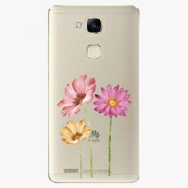 Plastový kryt iSaprio - Three Flowers - Huawei Mate7
