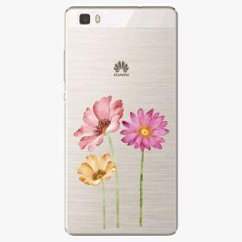 Plastový kryt iSaprio - Three Flowers - Huawei Ascend P8 Lite