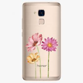 Plastový kryt iSaprio - Three Flowers - Huawei Honor 7 Lite