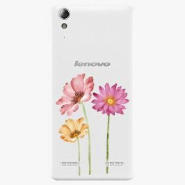 Plastový kryt iSaprio - Three Flowers - Lenovo A6000 / K3