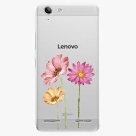 Plastový kryt iSaprio - Three Flowers - Lenovo Vibe K5