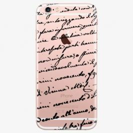 Plastový kryt iSaprio - Handwiting 01 - black - iPhone 6 Plus/6S Plus