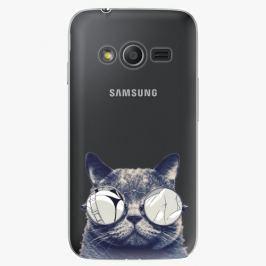 Plastový kryt iSaprio - Crazy Cat 01 - Samsung Galaxy Trend 2 Lite