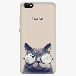 Plastový kryt iSaprio - Crazy Cat 01 - Huawei Honor 4C