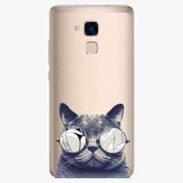 Plastový kryt iSaprio - Crazy Cat 01 - Huawei Honor 7 Lite