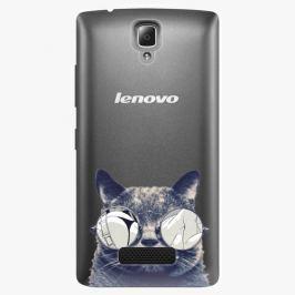 Plastový kryt iSaprio - Crazy Cat 01 - Lenovo A2010