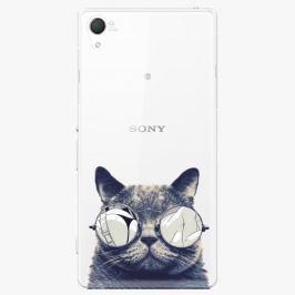 Plastový kryt iSaprio - Crazy Cat 01 - Sony Xperia Z2