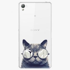 Plastový kryt iSaprio - Crazy Cat 01 - Sony Xperia Z3