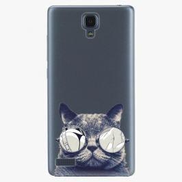 Plastový kryt iSaprio - Crazy Cat 01 - Xiaomi Redmi Note