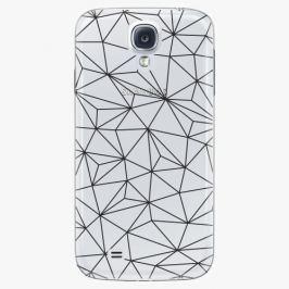 Plastový kryt iSaprio - Abstract Triangles 03 - black - Samsung Galaxy S4