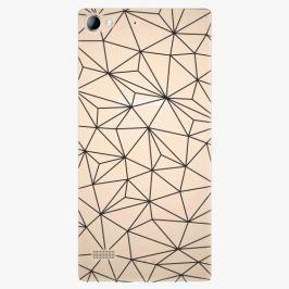 Plastový kryt iSaprio - Abstract Triangles 03 - black - Lenovo Vibe X2
