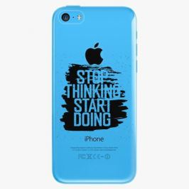 Plastový kryt iSaprio - Start Doing - black - iPhone 5C