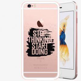 Plastový kryt iSaprio - Start Doing - black - iPhone 6 Plus/6S Plus - Rose Gold