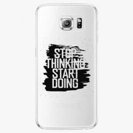 Plastový kryt iSaprio - Start Doing - black - Samsung Galaxy S6 Edge