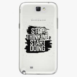 Plastový kryt iSaprio - Start Doing - black - Samsung Galaxy Note 2