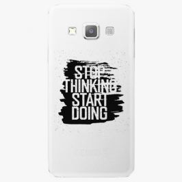 Plastový kryt iSaprio - Start Doing - black - Samsung Galaxy A7