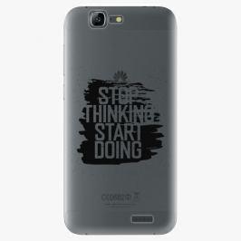 Plastový kryt iSaprio - Start Doing - black - Huawei Ascend G7