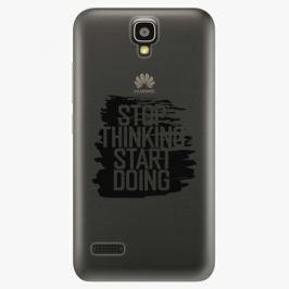 Plastový kryt iSaprio - Start Doing - black - Huawei Ascend Y5