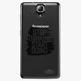 Plastový kryt iSaprio - Start Doing - black - Lenovo A536