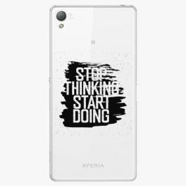 Plastový kryt iSaprio - Start Doing - black - Sony Xperia Z3