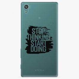 Plastový kryt iSaprio - Start Doing - black - Sony Xperia Z5