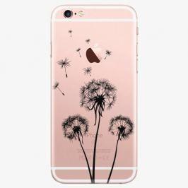 Plastový kryt iSaprio - Three Dandelions - black - iPhone 7 Plus