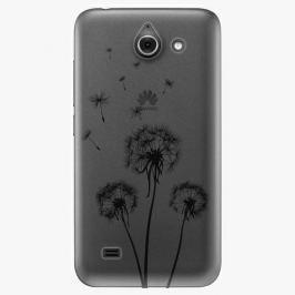 Plastový kryt iSaprio - Three Dandelions - black - Huawei Ascend Y550