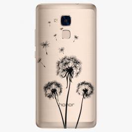 Plastový kryt iSaprio - Three Dandelions - black - Huawei Honor 7 Lite
