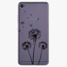 Plastový kryt iSaprio - Three Dandelions - black - Lenovo S90