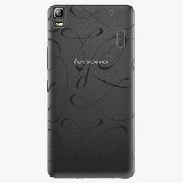 Plastový kryt iSaprio - Fancy - black - Lenovo A7000