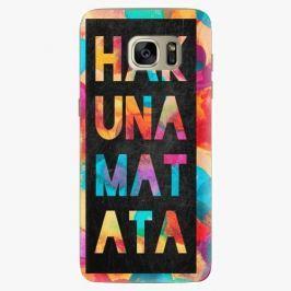 Plastový kryt iSaprio - Hakuna Matata 01 - Samsung Galaxy S7 Edge