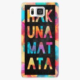 Plastový kryt iSaprio - Hakuna Matata 01 - Samsung Galaxy Alpha