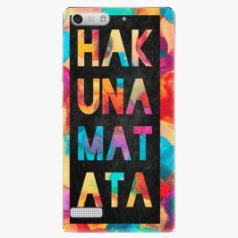 Plastový kryt iSaprio - Hakuna Matata 01 - Huawei Ascend G6