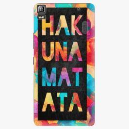 Plastový kryt iSaprio - Hakuna Matata 01 - Lenovo A7000
