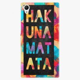 Plastový kryt iSaprio - Hakuna Matata 01 - Sony Xperia Z1