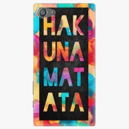 Plastový kryt iSaprio - Hakuna Matata 01 - Sony Xperia Z5 Compact