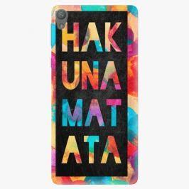 Plastový kryt iSaprio - Hakuna Matata 01 - Sony Xperia E5