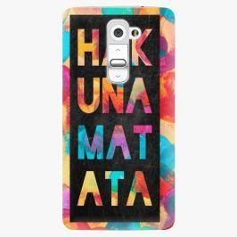 Plastový kryt iSaprio - Hakuna Matata 01 - LG G2 (D802B)